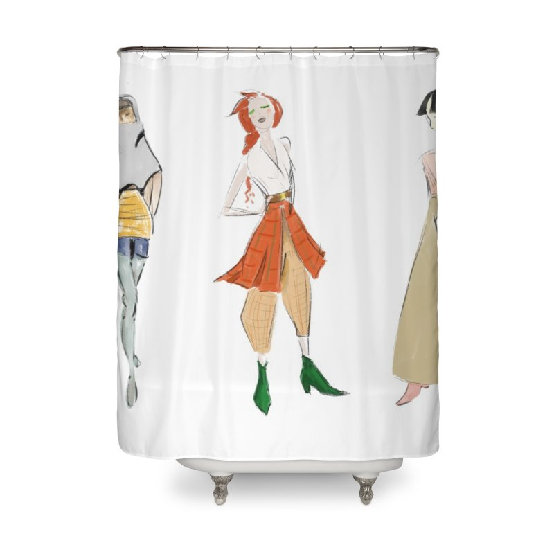 But Make It Fashion Home Shower Curtain by dasiavou's Artist Shop