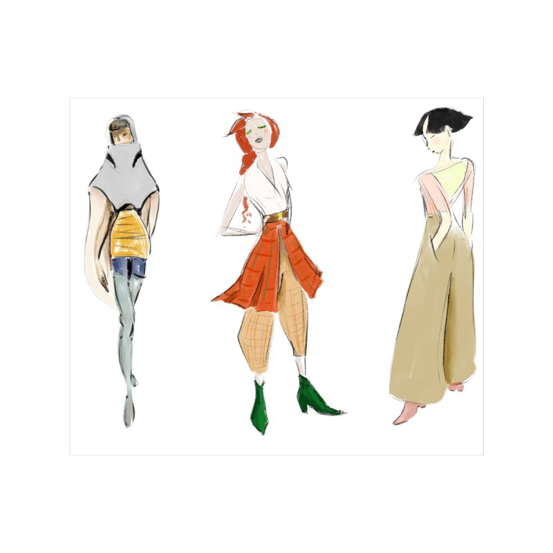 But Make It Fashion Women's V-Neck by dasiavou's Artist Shop