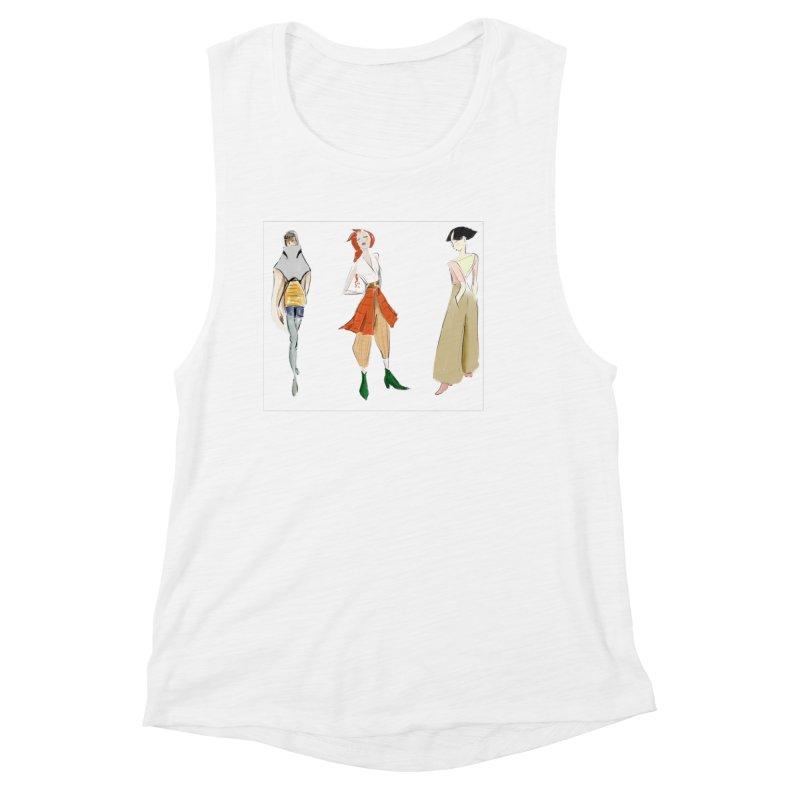 But Make It Fashion Women's Tank by dasiavou's Artist Shop
