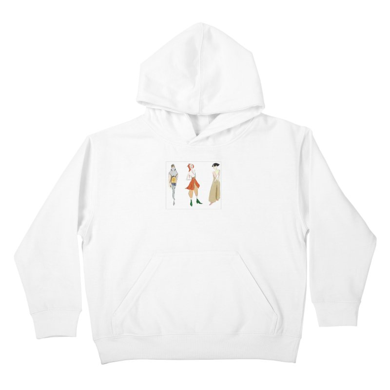 But Make It Fashion Kids Pullover Hoody by dasiavou's Artist Shop