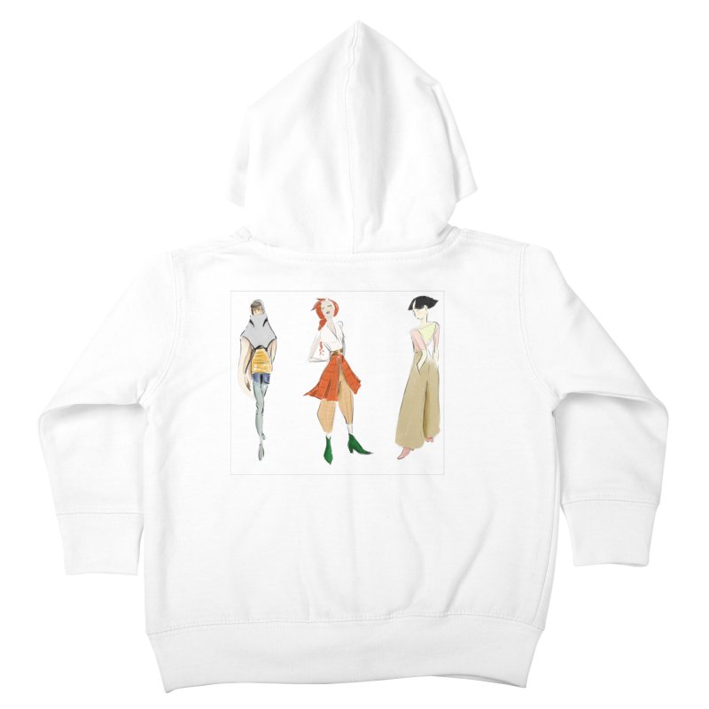 But Make It Fashion Kids Toddler Zip-Up Hoody by dasiavou's Artist Shop