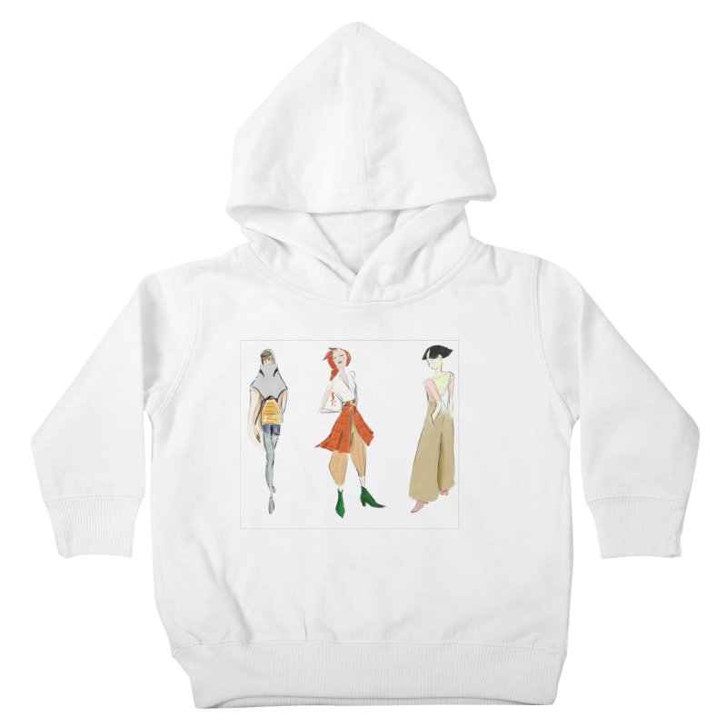 But Make It Fashion Kids Toddler Pullover Hoody by dasiavou's Artist Shop