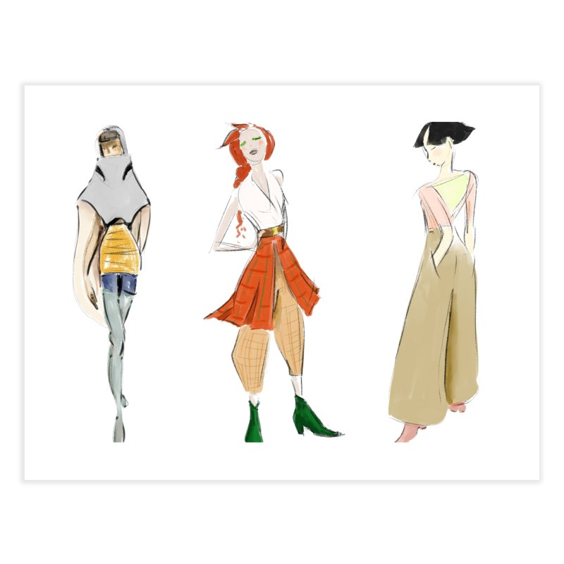 But Make It Fashion Home Fine Art Print by dasiavou's Artist Shop
