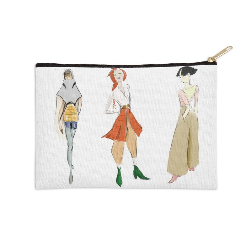 But Make It Fashion Accessories Zip Pouch by dasiavou's Artist Shop