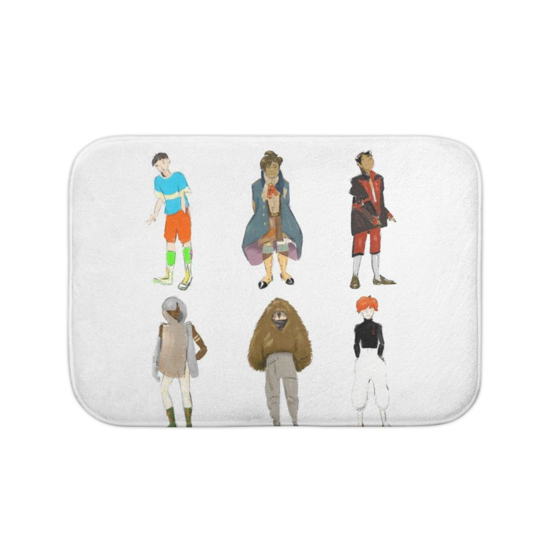 But Make It Fashion, Boys Home Bath Mat by dasiavou's Artist Shop