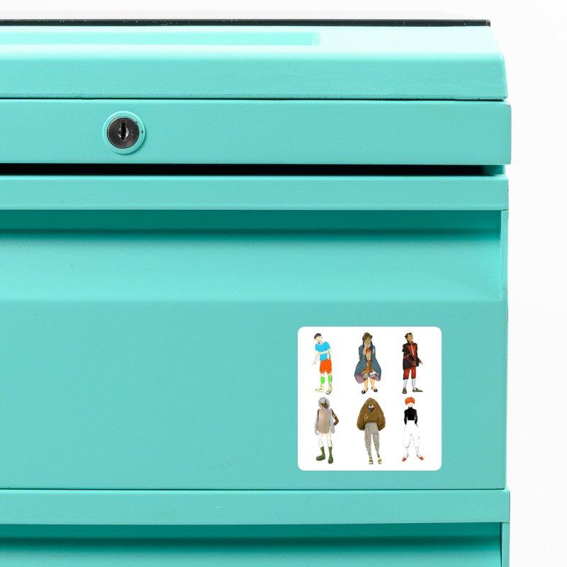 But Make It Fashion, Boys Accessories Magnet by dasiavou's Artist Shop
