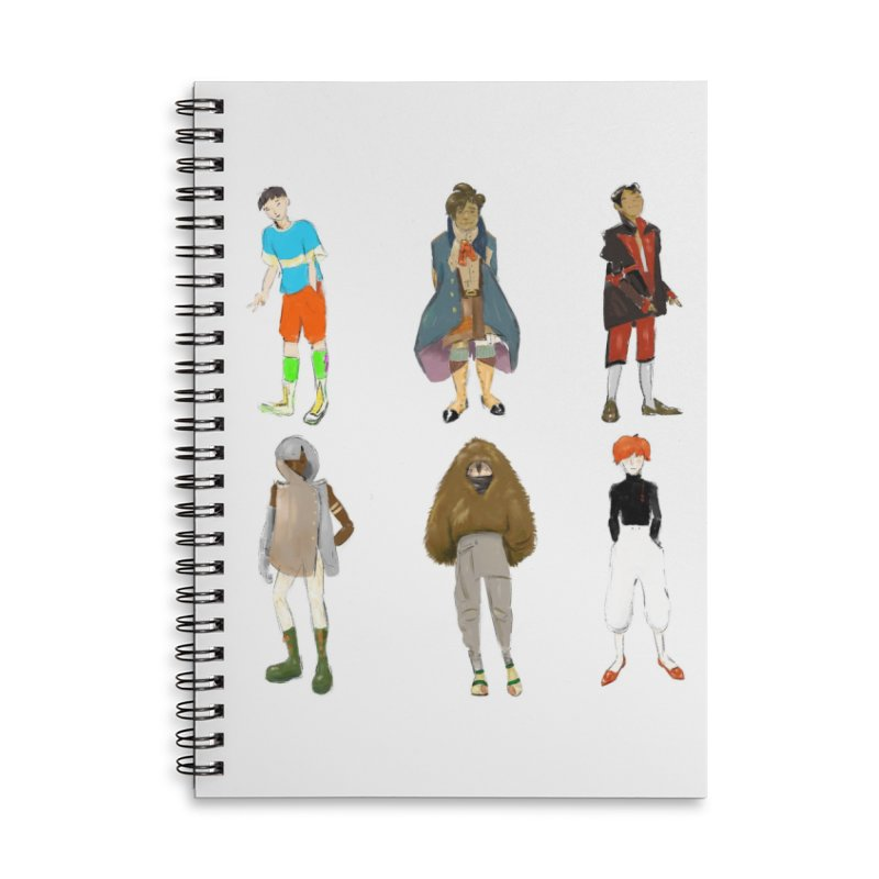 But Make It Fashion, Boys Accessories Notebook by dasiavou's Artist Shop