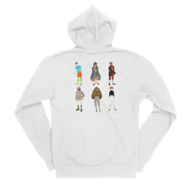 But Make It Fashion, Boys Women's Zip-Up Hoody by dasiavou's Artist Shop