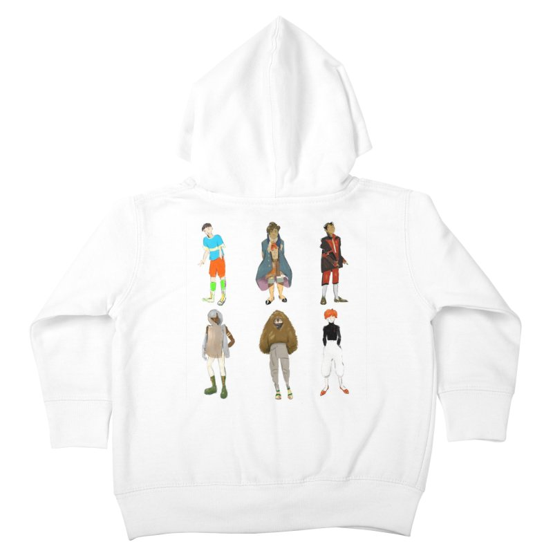 But Make It Fashion, Boys Kids Toddler Zip-Up Hoody by dasiavou's Artist Shop