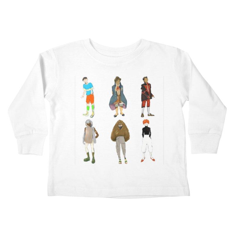 But Make It Fashion, Boys Kids Toddler Longsleeve T-Shirt by dasiavou's Artist Shop