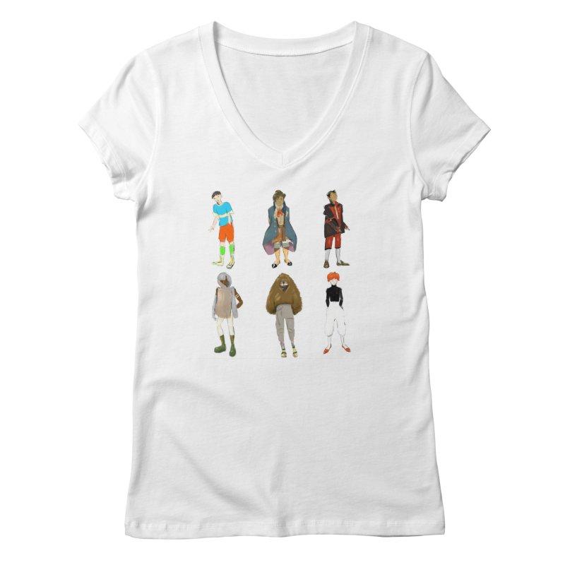 But Make It Fashion, Boys Women's V-Neck by dasiavou's Artist Shop