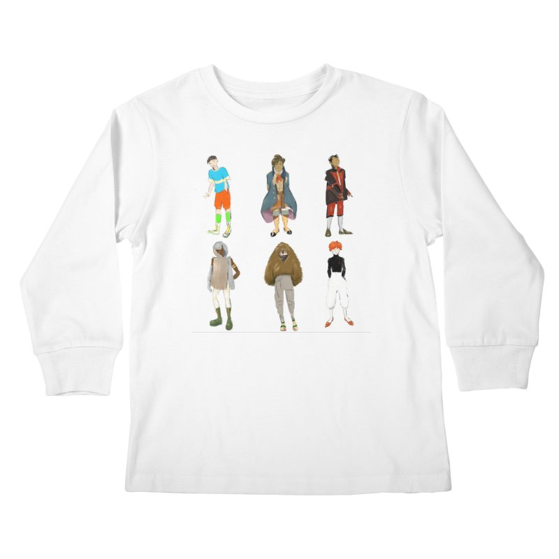 But Make It Fashion, Boys Kids Longsleeve T-Shirt by dasiavou's Artist Shop