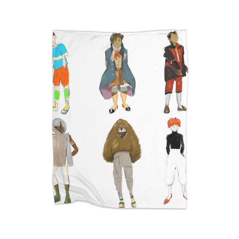 But Make It Fashion, Boys Home Blanket by dasiavou's Artist Shop