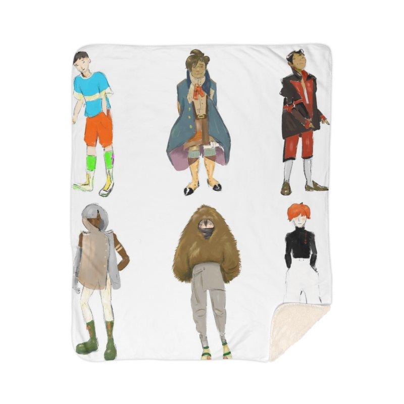 But Make It Fashion, Boys Home Blanket by dasiavou's Artist Shop