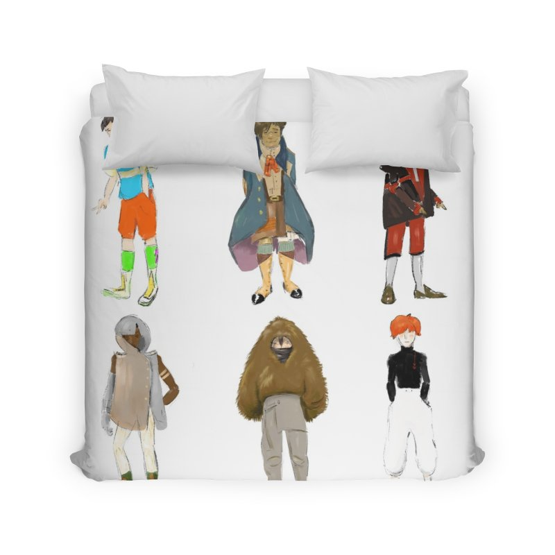 But Make It Fashion, Boys Home Duvet by dasiavou's Artist Shop