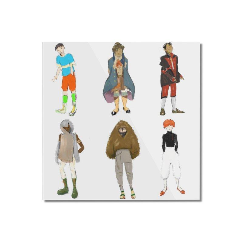 But Make It Fashion, Boys Home Mounted Acrylic Print by dasiavou's Artist Shop
