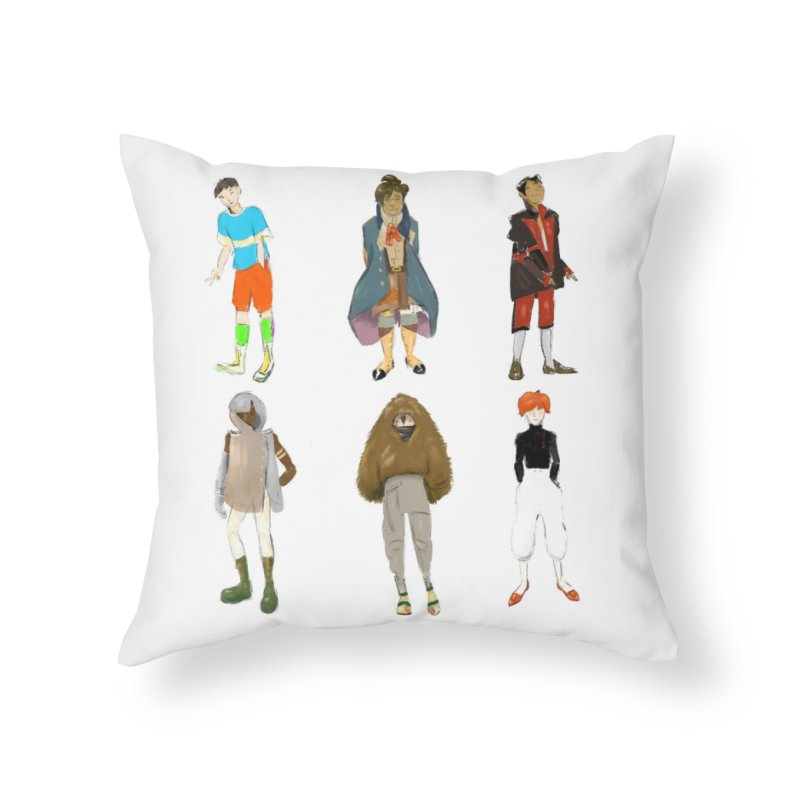 But Make It Fashion, Boys Home Throw Pillow by dasiavou's Artist Shop
