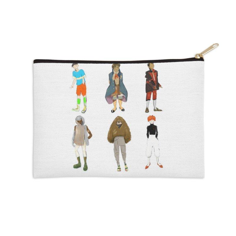 But Make It Fashion, Boys Accessories Zip Pouch by dasiavou's Artist Shop