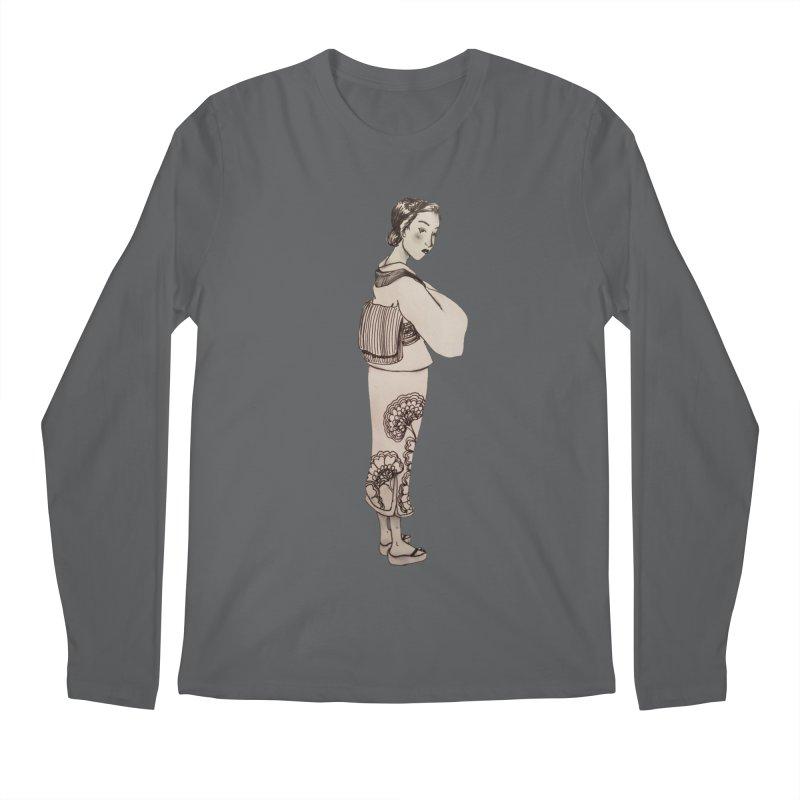 Shi Men's Longsleeve T-Shirt by dasiavou's Artist Shop