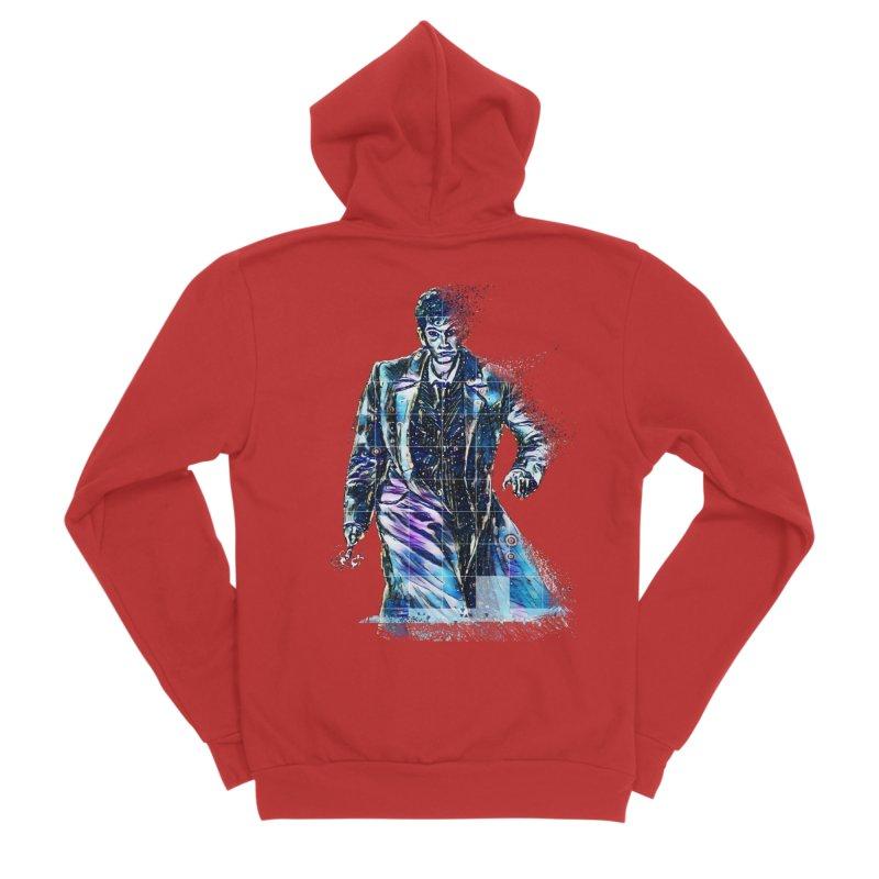 The Oncoming Storm Men's Zip-Up Hoody by dasiavou's Artist Shop