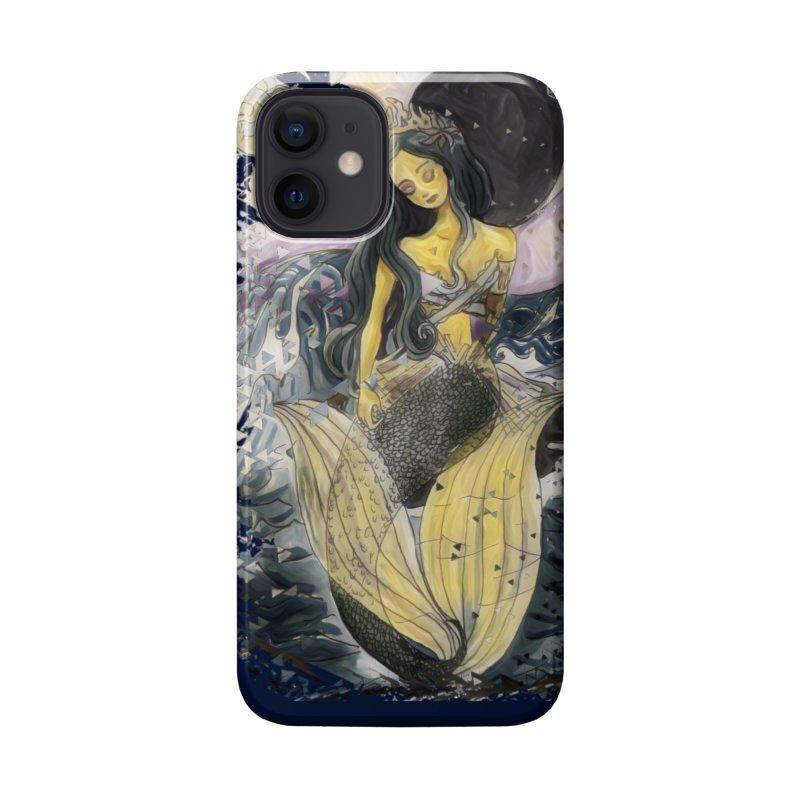 Mermaid Moon Accessories Phone Case by dasiavou's Artist Shop