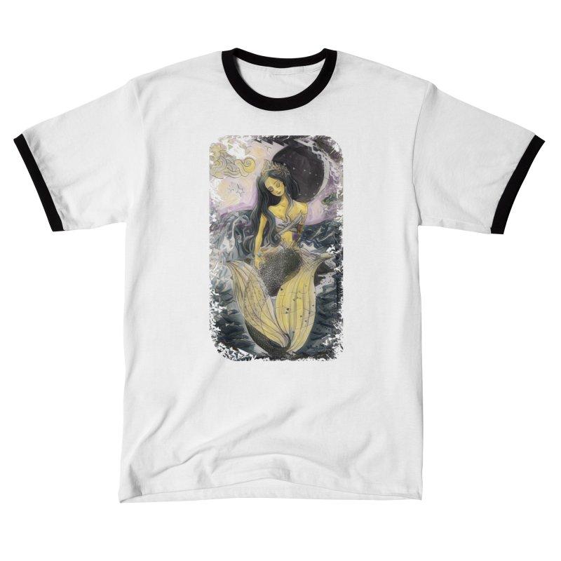 Mermaid Moon Women's T-Shirt by dasiavou's Artist Shop