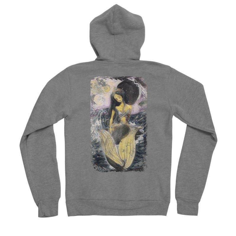 Mermaid Moon Women's Zip-Up Hoody by dasiavou's Artist Shop