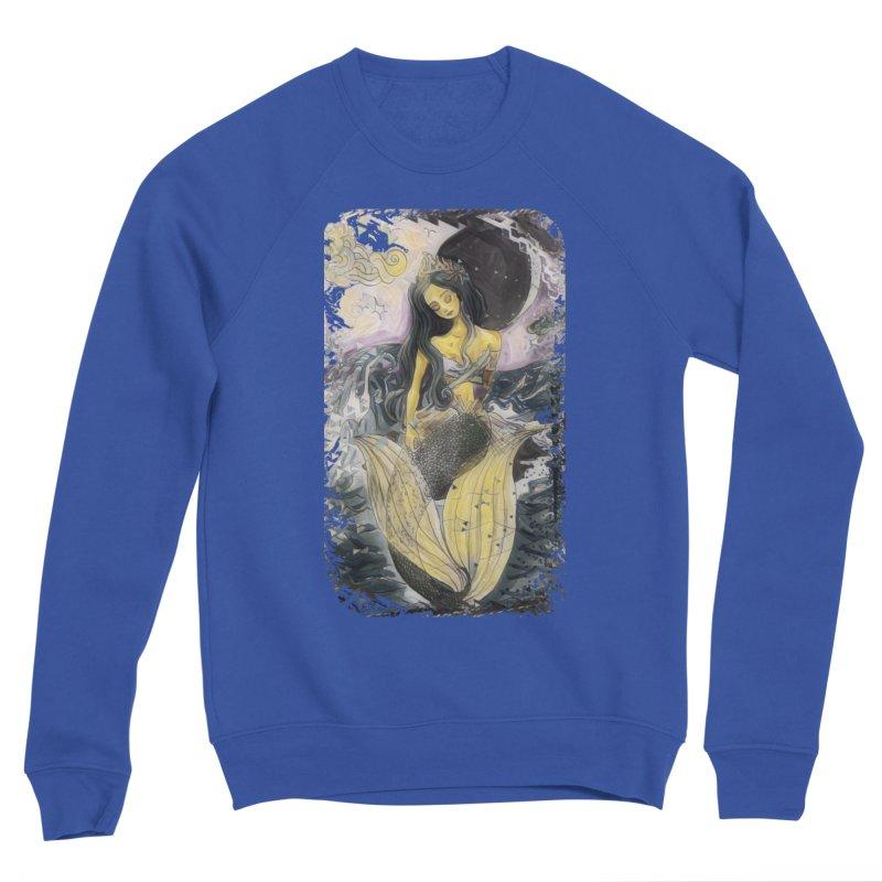 Mermaid Moon Men's Sweatshirt by dasiavou's Artist Shop