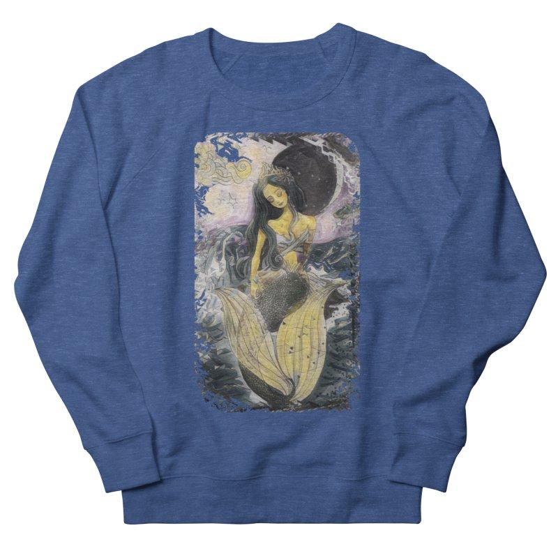 Mermaid Moon Women's Sweatshirt by dasiavou's Artist Shop