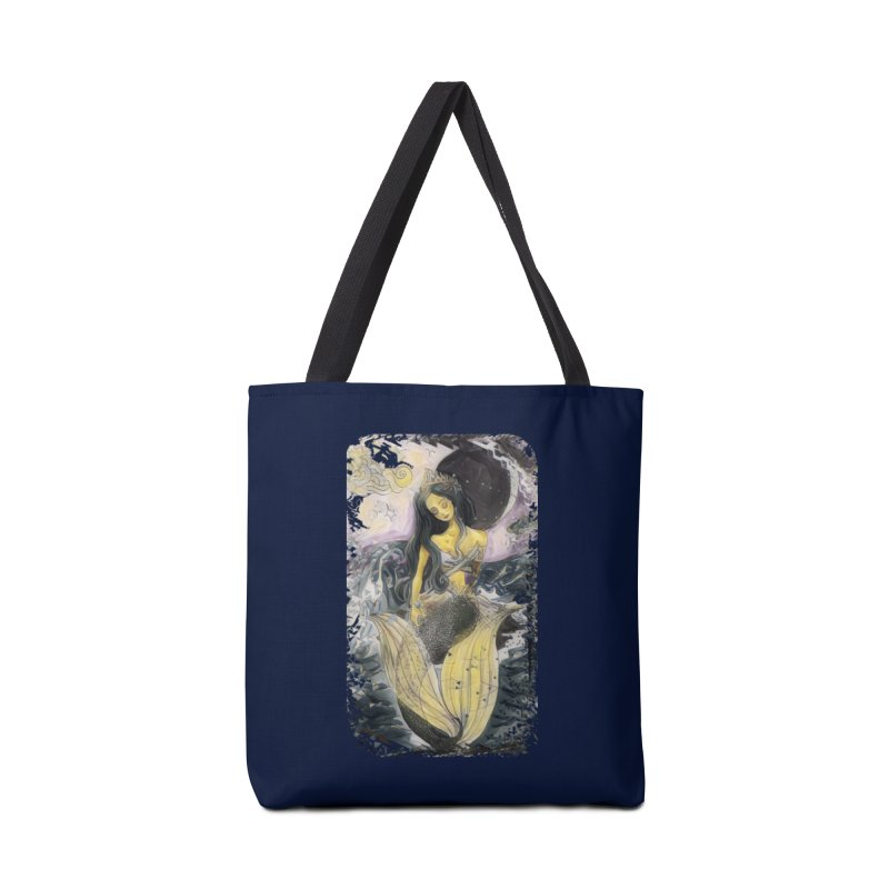 Mermaid Moon Accessories Bag by dasiavou's Artist Shop