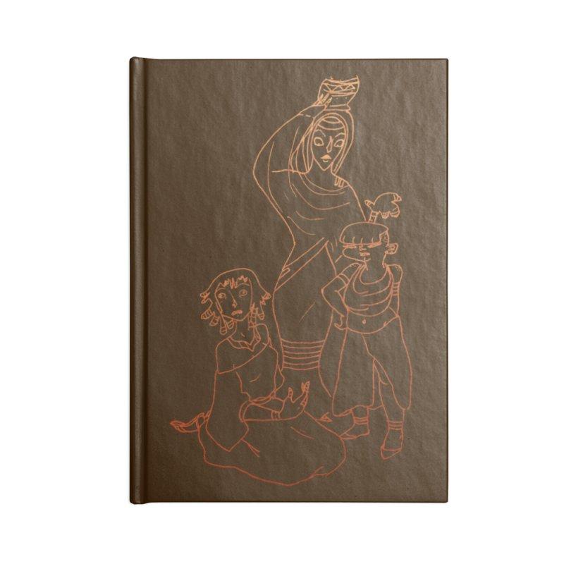 Amuse Us Accessories Notebook by dasiavou's Artist Shop