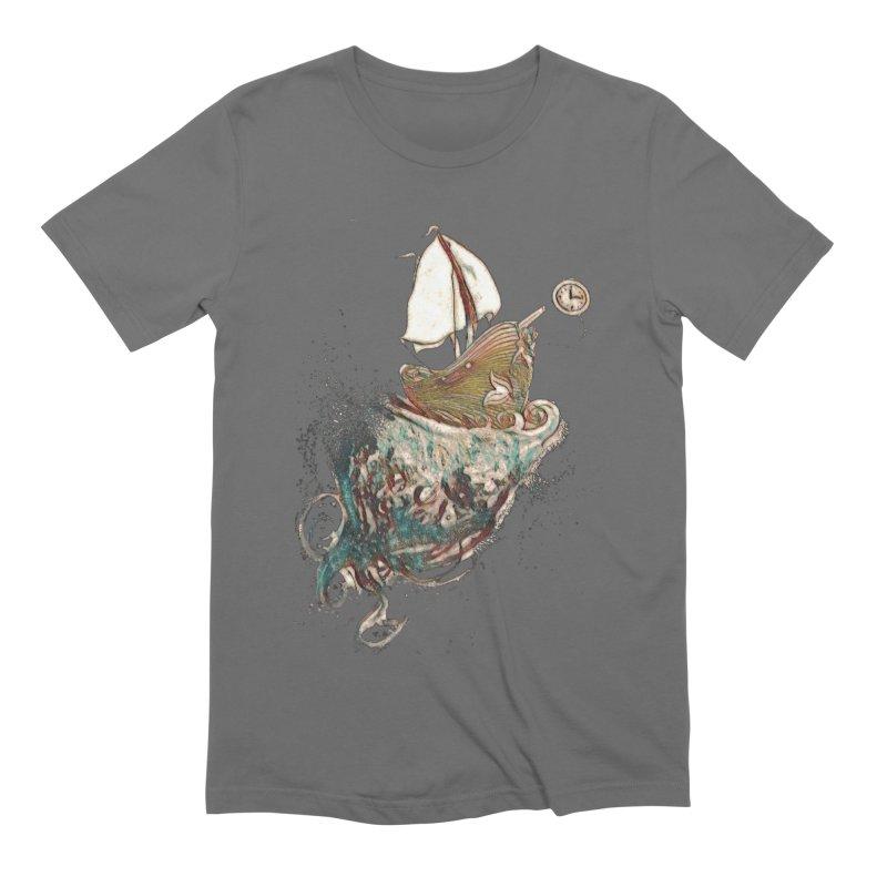 Straight On Till Morning Men's T-Shirt by dasiavou's Artist Shop