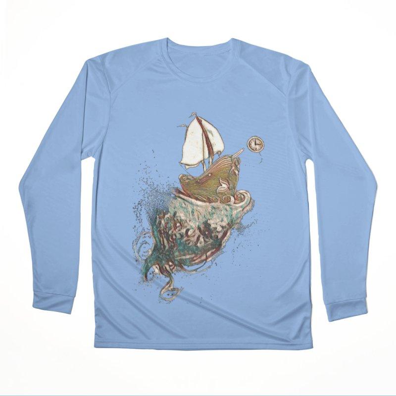 Straight On Till Morning Men's Longsleeve T-Shirt by dasiavou's Artist Shop