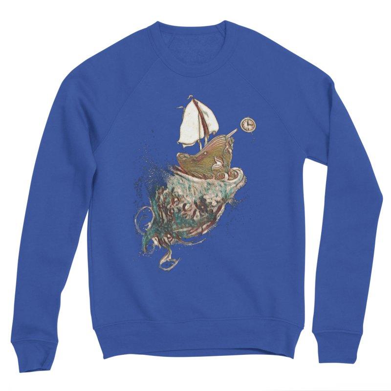 Straight On Till Morning Men's Sweatshirt by dasiavou's Artist Shop