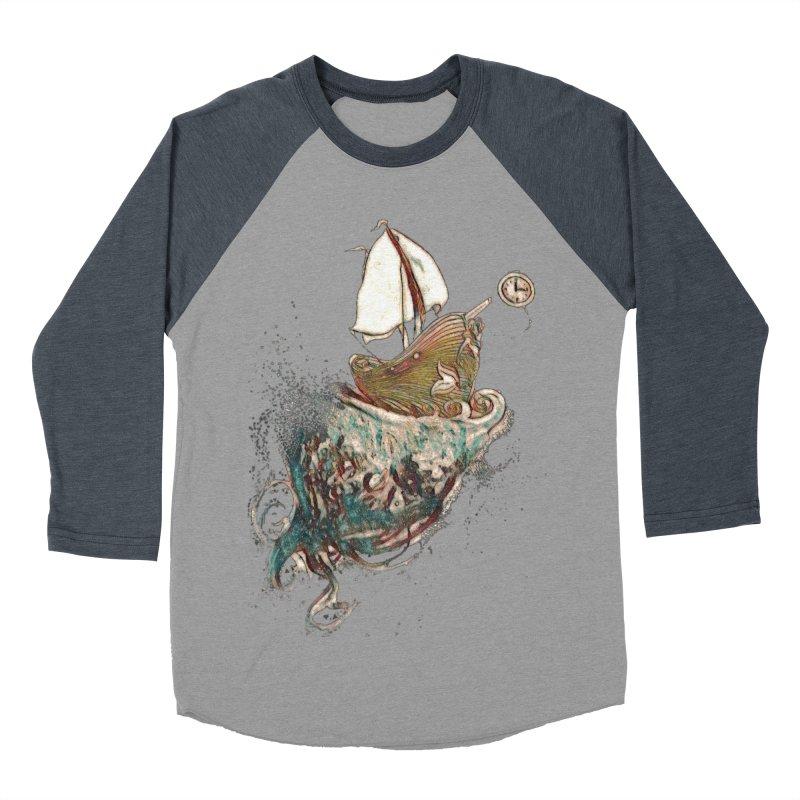 Straight On Till Morning Women's Baseball Triblend Longsleeve T-Shirt by dasiavou's Artist Shop