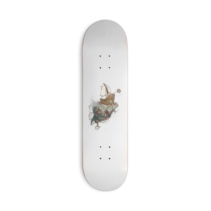 Straight On Till Morning Accessories Skateboard by dasiavou's Artist Shop