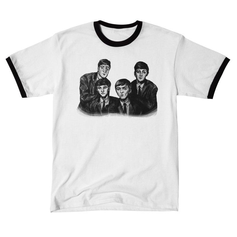 A Little Help From My Friends Men's T-Shirt by dasiavou's Artist Shop