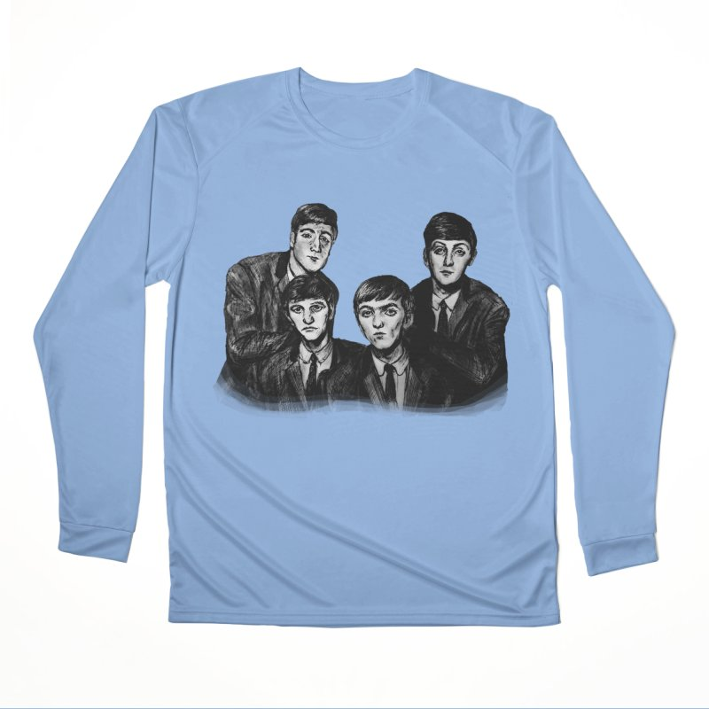 A Little Help From My Friends Men's Longsleeve T-Shirt by dasiavou's Artist Shop