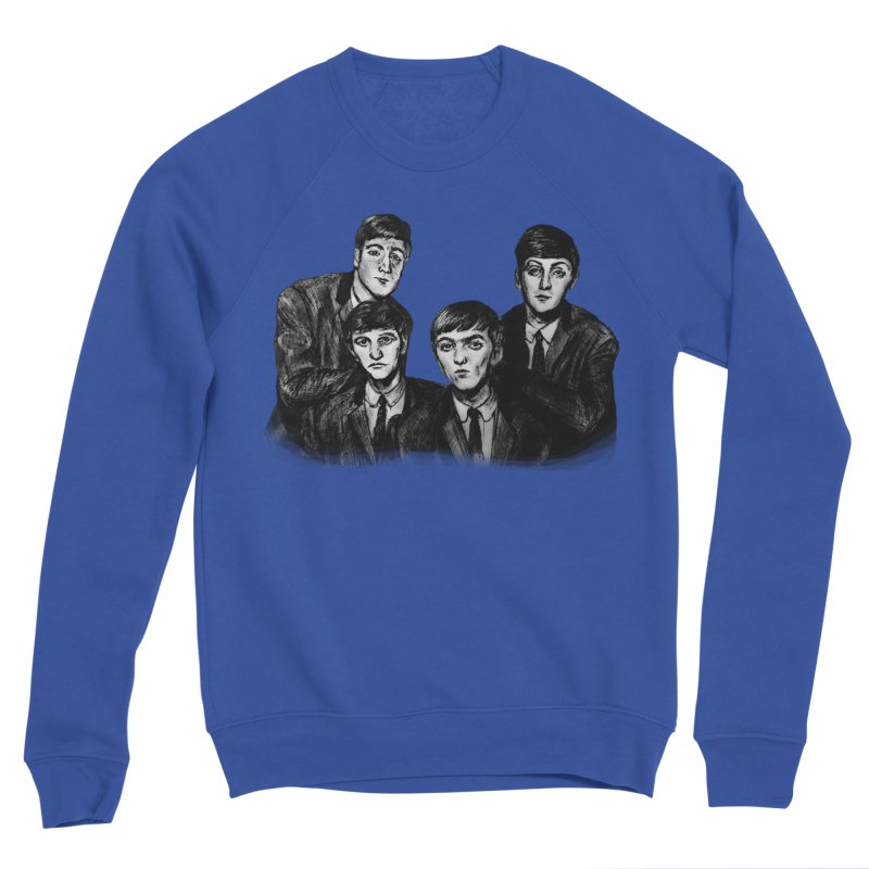 A Little Help From My Friends Men's Sweatshirt by dasiavou's Artist Shop