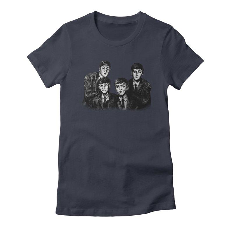 A Little Help From My Friends Women's T-Shirt by dasiavou's Artist Shop
