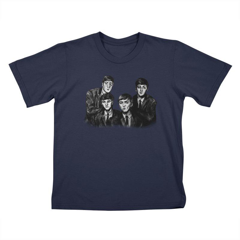 A Little Help From My Friends Kids T-Shirt by dasiavou's Artist Shop