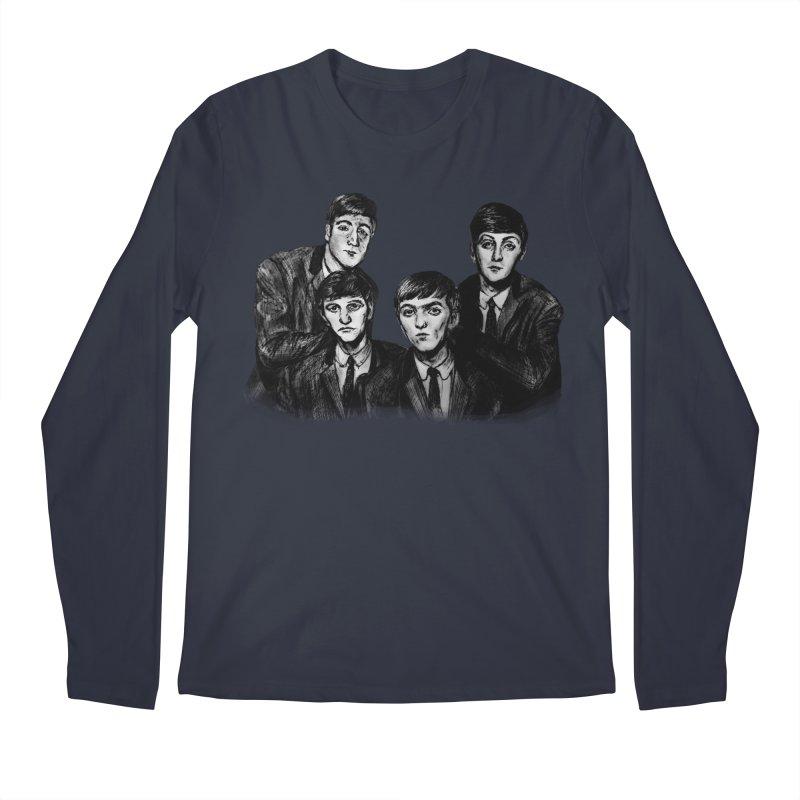 A Littler Help From My Friends  Men's Longsleeve T-Shirt by dasiavou's Artist Shop