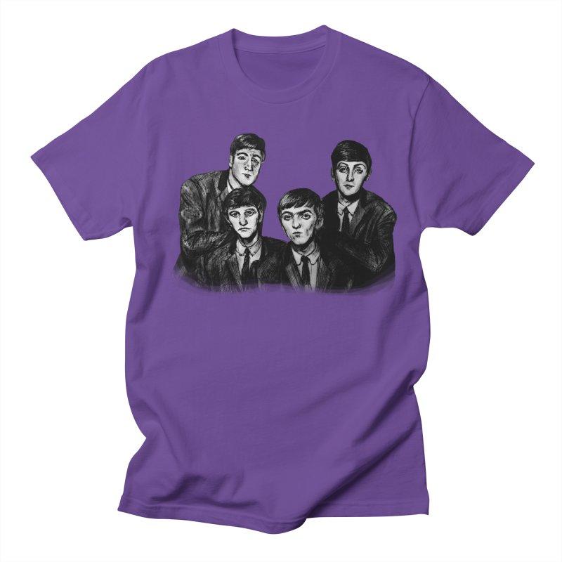 A Littler Help From My Friends  Men's T-shirt by dasiavou's Artist Shop
