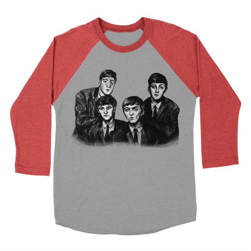 A Little Help From My Friends Women's Baseball Triblend Longsleeve T-Shirt by dasiavou's Artist Shop