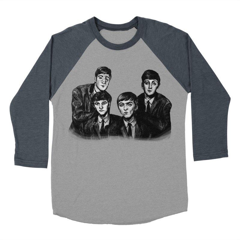 A Littler Help From My Friends  Men's Baseball Triblend T-Shirt by dasiavou's Artist Shop