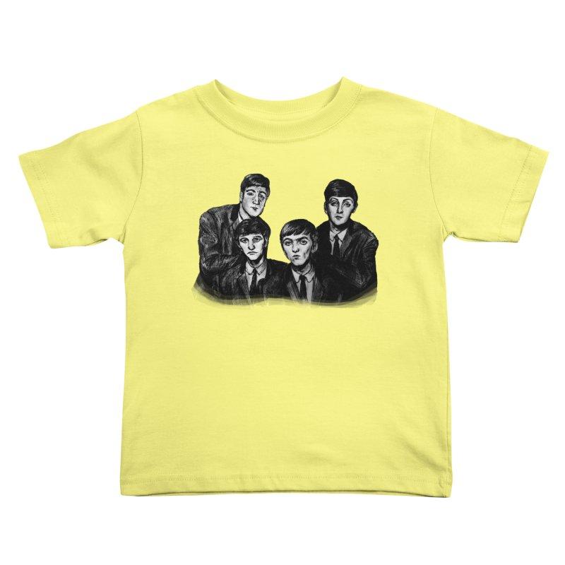 A Littler Help From My Friends  Kids Toddler T-Shirt by dasiavou's Artist Shop