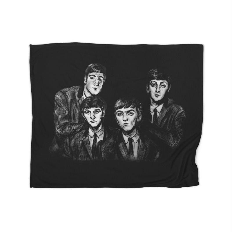 A Littler Help From My Friends  Home Blanket by dasiavou's Artist Shop