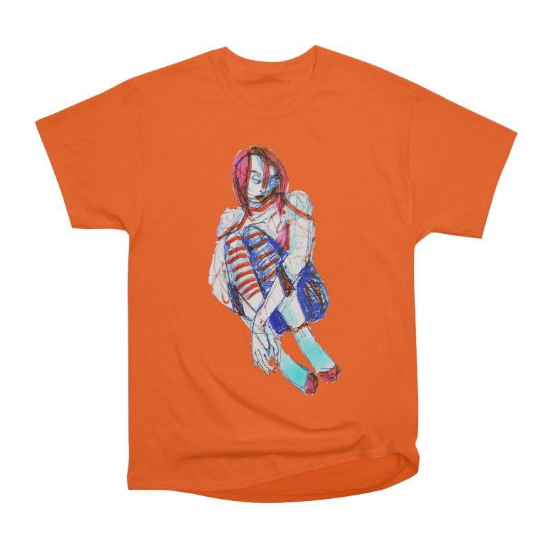 Bare Bones Men's Classic T-Shirt by dasiavou's Artist Shop