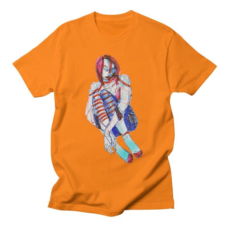 Bare Bones Men's T-shirt by dasiavou's Artist Shop