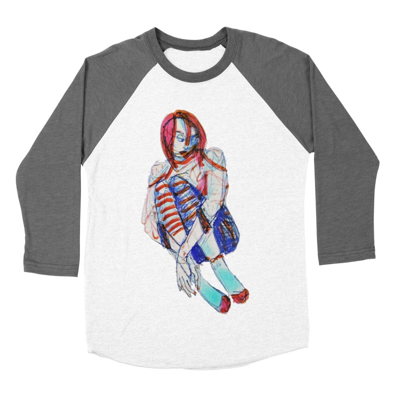 Bare Bones Women's Longsleeve T-Shirt by dasiavou's Artist Shop
